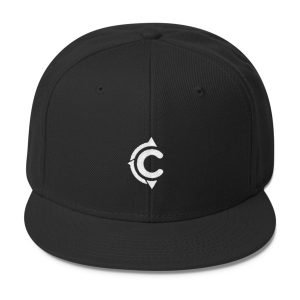 Coronado Island Cruiser Hat (Black/ White thread)