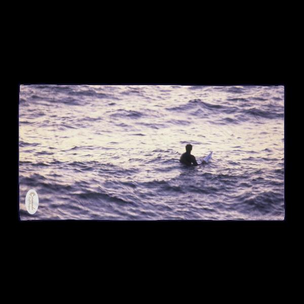 Coronado Sunset Surfer Beach Towel