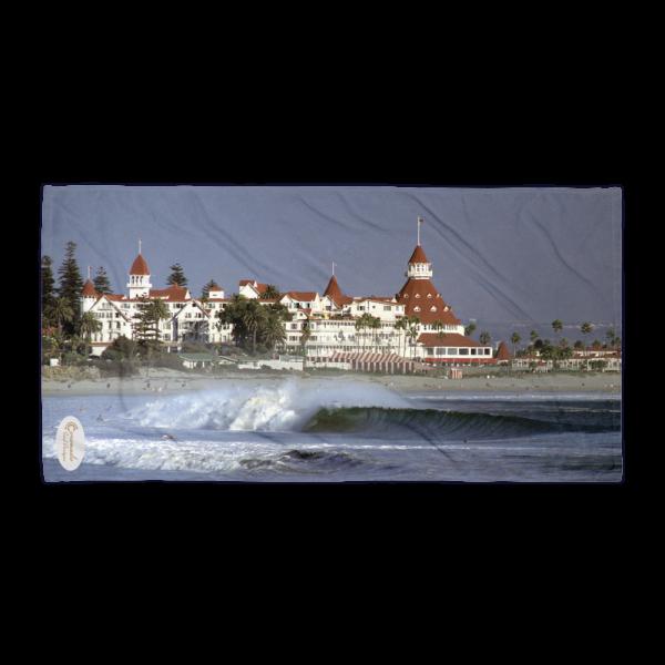 Hotel Del Coronado inspired Beach Towel—Coronado California
