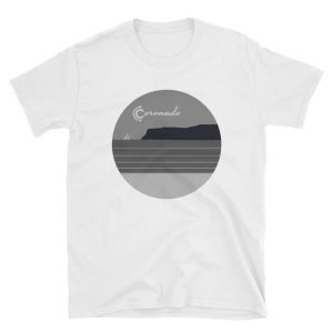 Coronado May Grey / June Gloom Unisex / Men's T-shirt (White)