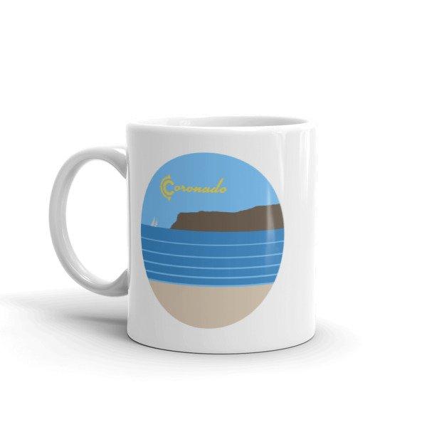 "Coronado Coffee Mug 11"" (left view)"