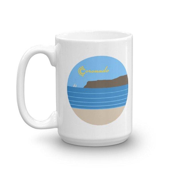 "Coronado Coffee Mug 15"" (left view)"