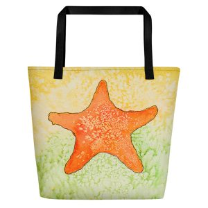 Coronado Star Fish Beach Bag (right side)