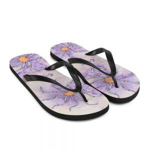 Coronado Beach Brittle Star Flip-Flops-side