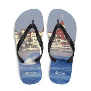 Coronado Hotel Del Inspired Flip-Flops-top