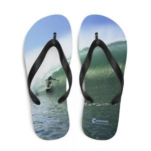 Coronado Island Flip-Flops–Tuberider Surf Soles-top