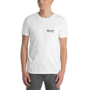 Coronado Outlines Backside Short-Sleeve Unisex T-Shirt (white front)